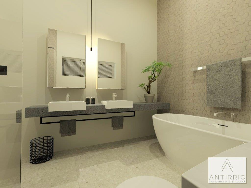 House A_Main Bath_Alt 1_Perspective 3_Rendered
