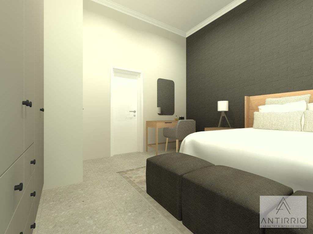 House A_Main Bed_Alt 1_Perspective 3_Rendered