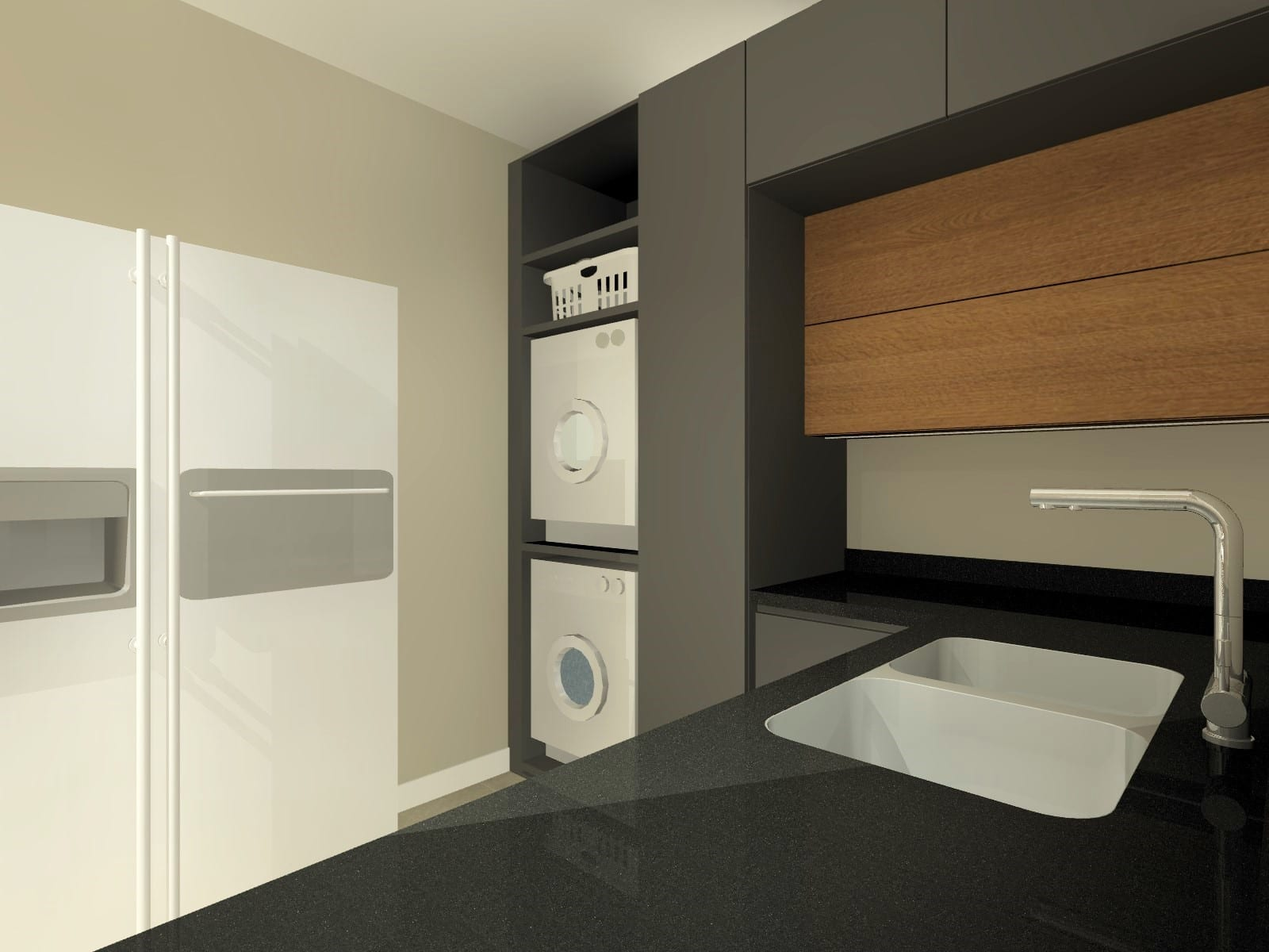 Simplex Kitchen Scullery_Perspective 12_Rendered