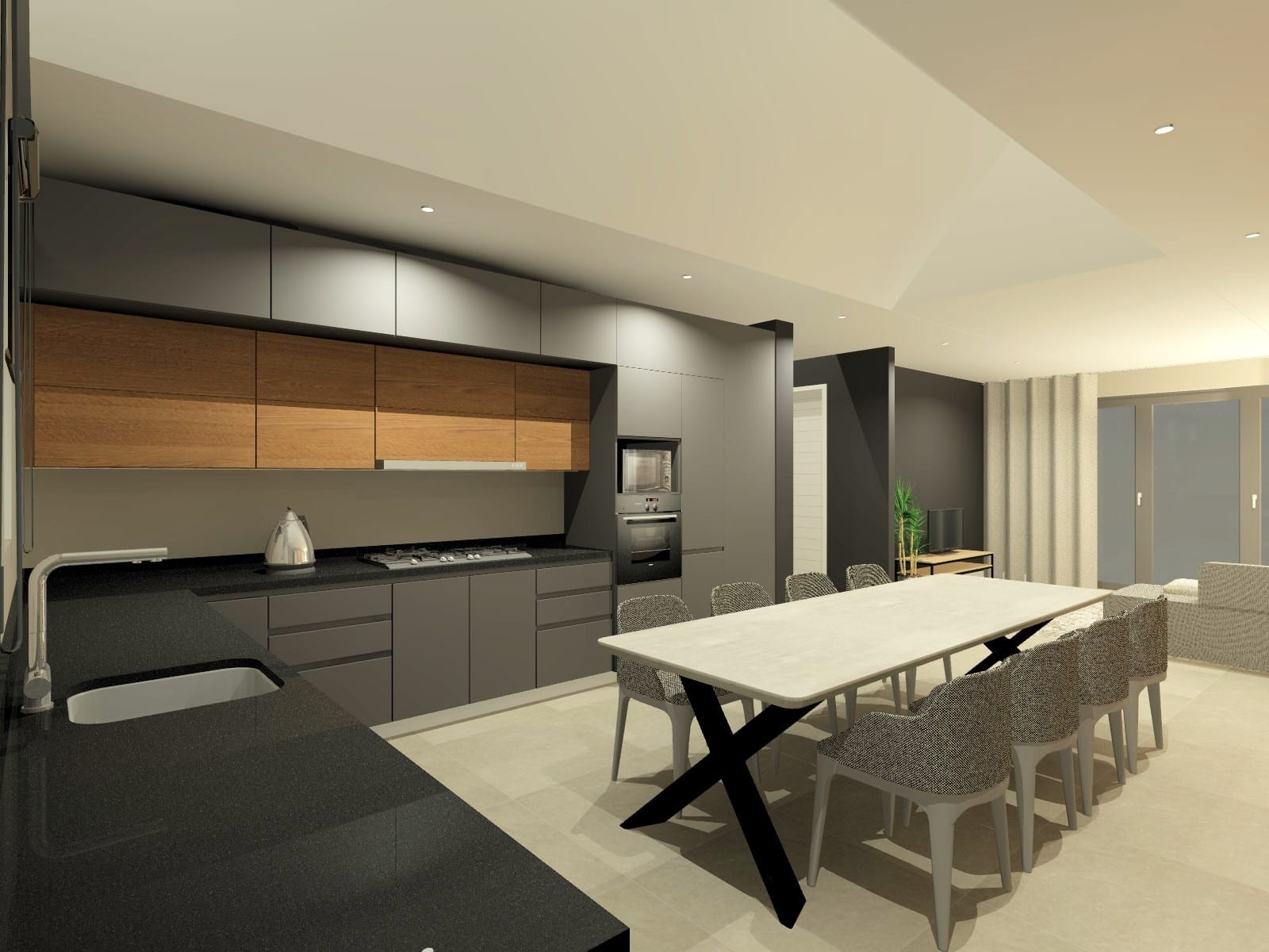 Simplex Kitchen Scullery_Perspective 7_Rendered